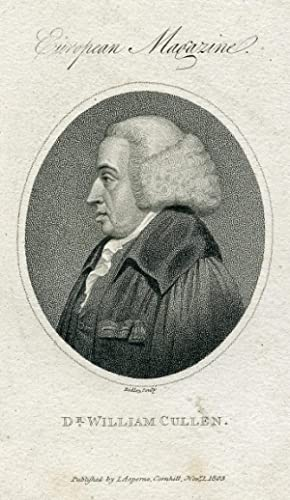 Engraved Portrait by Ridley: Cullen, William