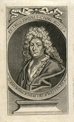Engraved Portrait: Dionis, Pierre