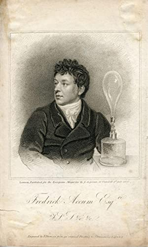 Engraved Portrait by J. Thomson after S. Drummond. Published for the European Magazine: Accum, ...