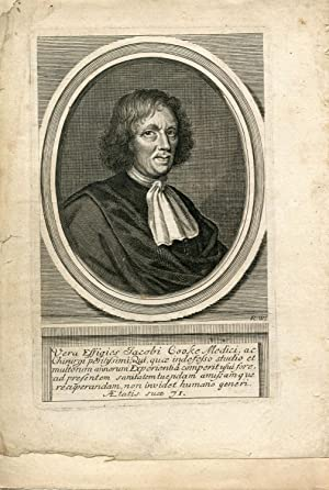 Engraved Portrait by R. W.: Cooke, Jacob