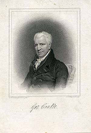 Engraved Portrait by J. T. Wedgwood after H. W. Pickersgill: Crabbe, George
