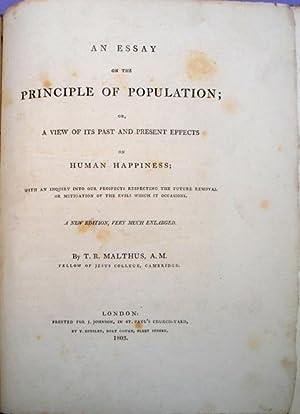 Thomas malthus essay principle population abebooks