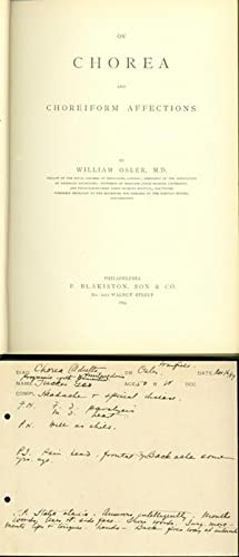 On chorea and choreiform affections: Osler, William