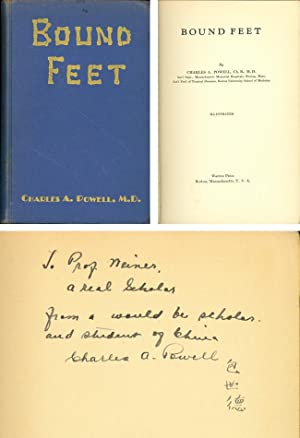 Bound feet. Inscribed to Norbert Weiner by the author: Powell, Charles A.