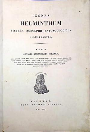 Icones helminthum systema Rudolphii entozoologicum illustrantes: Bremser, Joannes Gottfried
