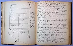 Autograph manuscript notebook of field experiments, 1890-91, 1891-92, and 1892-93. 130 leaves: ...