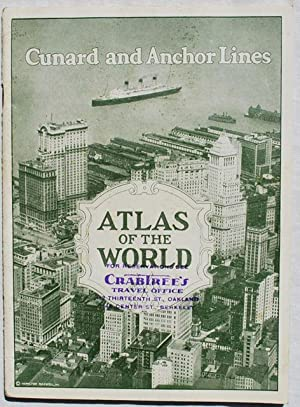 Atlas of the World.: Cunard and Anchor