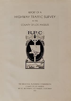 Street Traffic Management for Los Angeles.: Traffic Survey Committee.