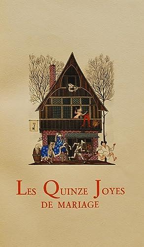 Le Quinze Joyes de Mariage.: Anonymous.