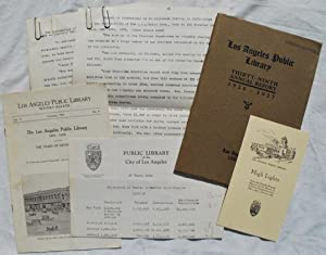 Small Archive of Publications by the Los Angeles Public Library with further research notes ...