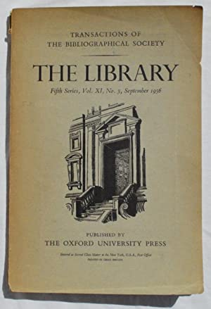"""The Types of Christopher Plantin."""" In: The Library: Transactions of the Bibliographical ..."""