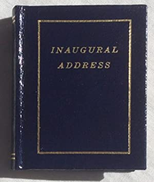 Inaugural Address of John Fitzgerald Kennedy.