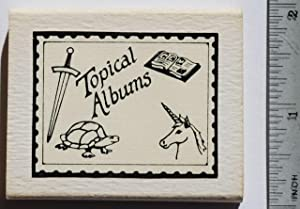 One-of-a-Kind Topical Miniature Stamp Albums.
