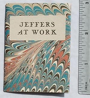 Jeffers at Work: Una Jeffers
