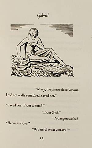 Gabriel: A Poem in One Song. Translated by Max Eastman. Illustrated by Rockwell Kent.: Alexander ...