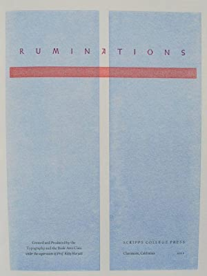 Ruminations.: Kitty Maryatt, et al.