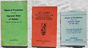 Three Pamphlets Issued By the Ninovan Council, No. 198; Membership Directory; By- Laws; Principles,...