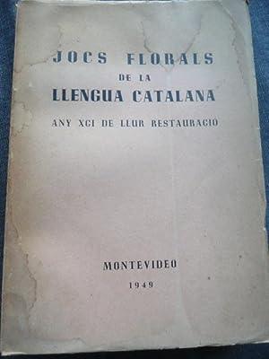 JOCS FLORALS DE LA LLENGUA CATALANA: MONTEVIDEO,