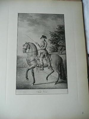 Real Picadero. Láminas De Equitación Grabadas En El Siglo XVIII. Con Un Estudio ...