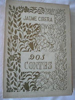 DOS CONTES.: Cirera, Jaume
