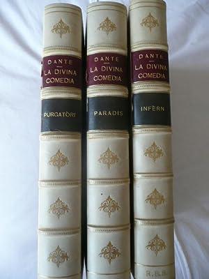 LA DIVINA COMEDIA. Traduida al Català, en: ALIGHIERI, Dante.
