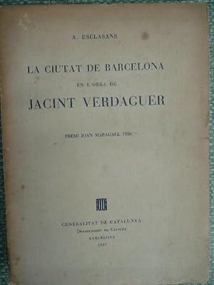 LA CIUTAT DE BARCELONA EN L' OBRA: Esclasans, A.