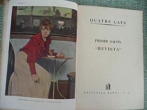 """Quatre Gats. Primer Salón """"Revista"""". Exposición Homenaje al Grupo Quetre ..."""