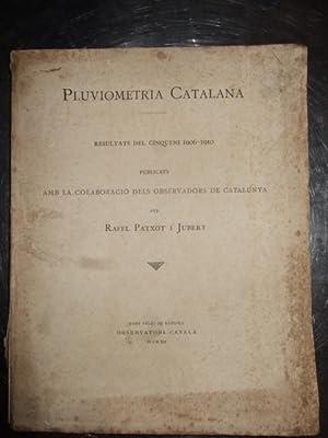 Pluviometria Catalana: Rafel Patxot I Jubert