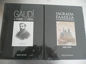 GAUDI. L'HOME I L'OBRA / SAGRADA FAMILIA.: BERGOS, JOAN -