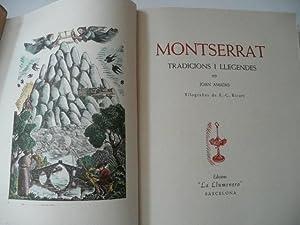 MONTSERRAT Tradicions I Llegendes: Joan Amades