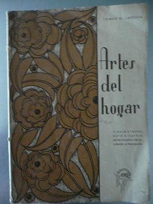 Artes Del Hogar. Dibujo, Trepas, Batik, Ikatten,: Tomas G. Larraya
