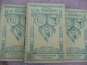 Historia Del Renacimiento 3 TOMOS: Jose Perez Hervas