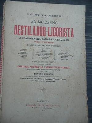 El Moderno Destilador-Licorista: Pedro Valsecchi