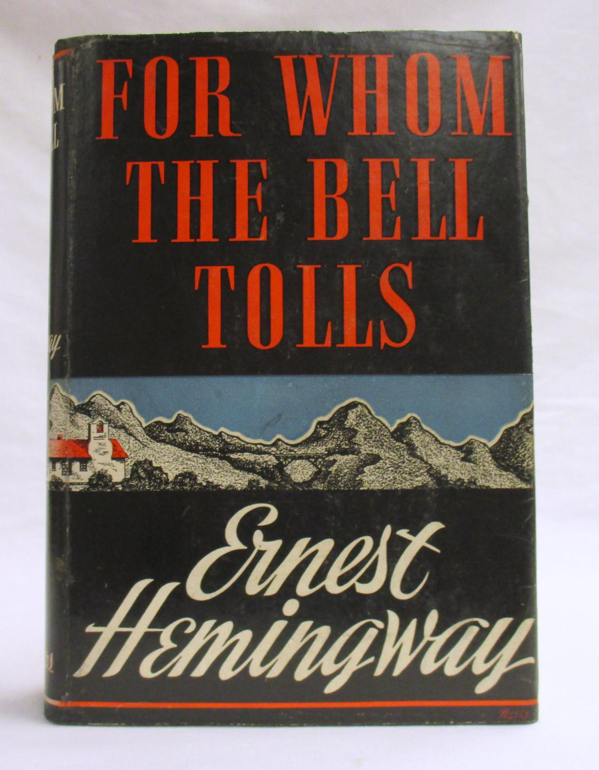 a literary analysis of for whom the bell tolls by ernest hemingway For whom the bell tolls became a book-of-the-month club choice, sold half a million copies within months, was nominated for a pulitzer prize, and as meyers describes it, triumphantly re-established hemingway's literary reputation.
