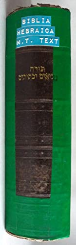 Hebrew Bible; Key to the Massoretic Notes, Titles, and Index Generally Found in the Margin: ...