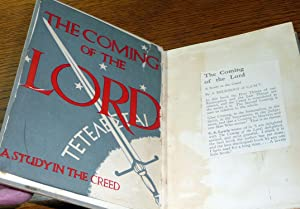 The Coming of the Lord: A Study in the Creed: A Religious of C.S.M.V.