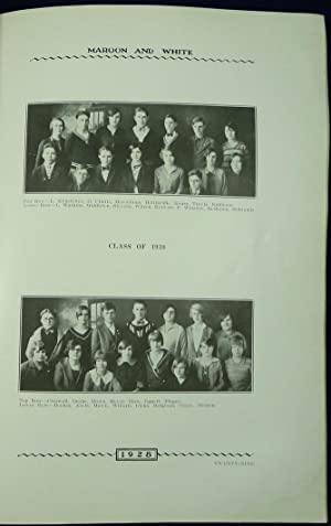 Grundy Center High School Yearbook (Annual) 1928 - The Maroon and White