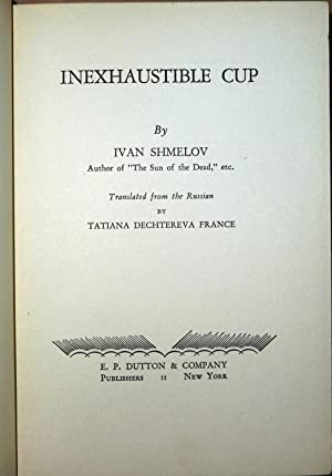 Inexhaustible Cup: Ivan Shmelov