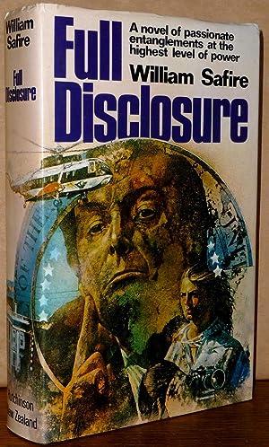 Full Disclosure: William Safire