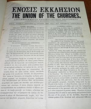 The Union of the Churches: A Fortnightly Ecclesiastical Periodical