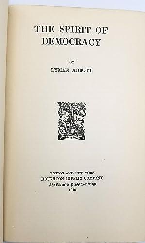 The Spirit of Democracy: Lyman Abbott