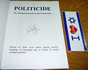 Politicide: The Attempted Murder of the Jewish State, Volume Three: Victor Sharpe