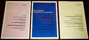 St Vladimir's Theological Quarterly 2002 - 2004: John Behr (ed.)