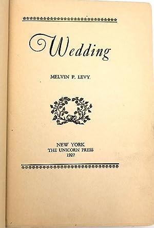 Wedding: Melvin P. Levy