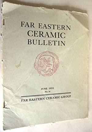 Far Eastern Ceramic Bulletin June 1951 No.