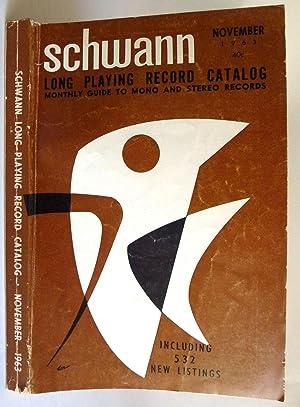 Schwann Long Playing Record Catalog Vol. 15