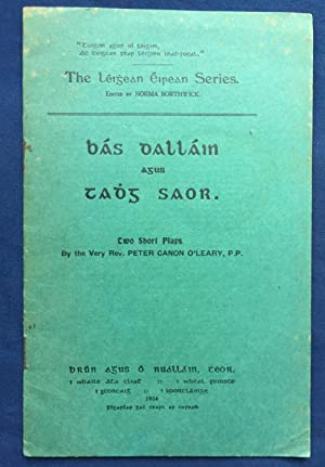Bás Dalláin agus Tadhg Saor - Two: O'Leary, Very Rev.