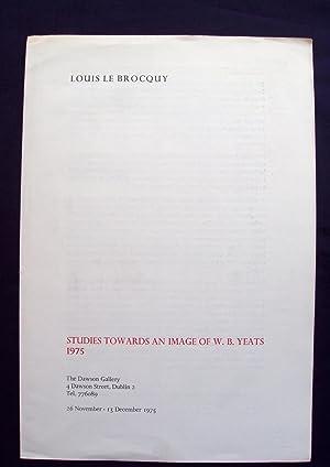 Louis le Brocquy : Studies Towards an: le Brocquy, Louis