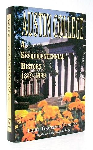 Austin College A Sesquicentennial History, 1849-1999: Cummins, Light Townsend
