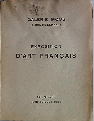 Exposition d'Art Français Galerie Moos 1939